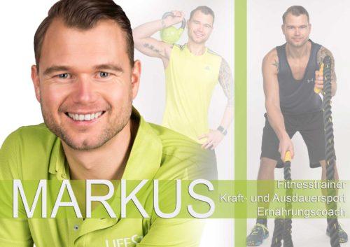 Fitnesstrainer Markus