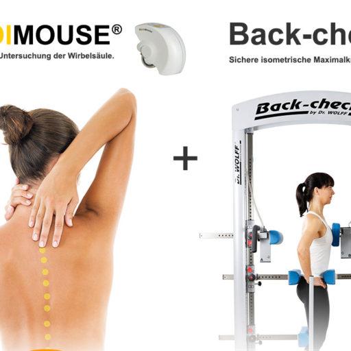 MediMouse und BackCheck