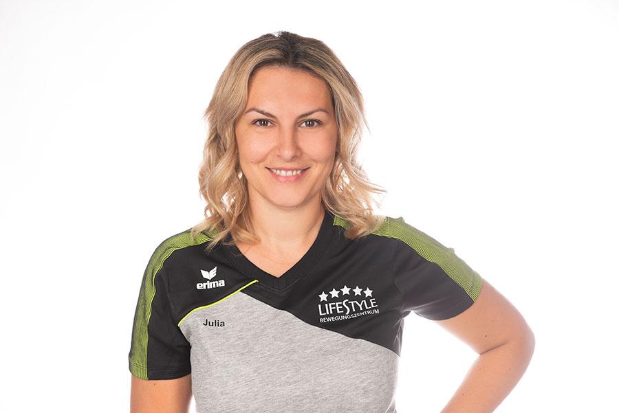 Fitnesstrainerin Julia